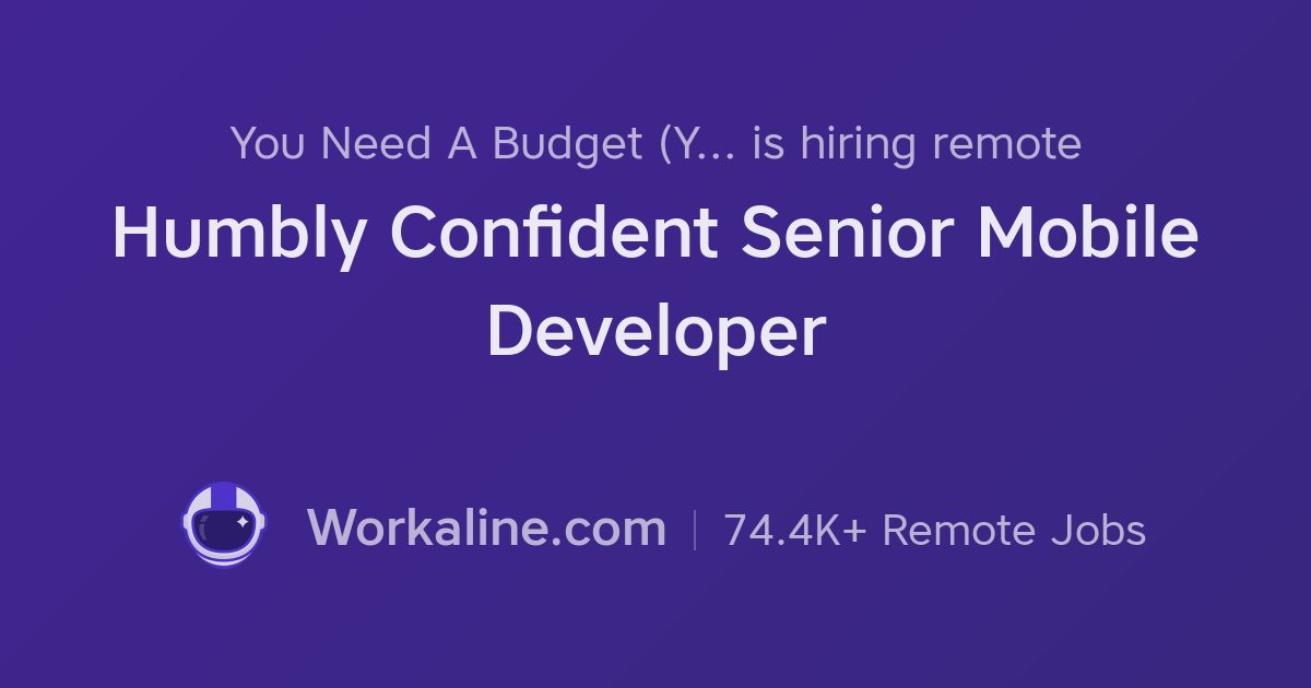 You Need A Budget (YNAB) × Humbly Confident Senior Mobile